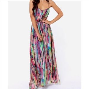 Jack multicolor maxi dress